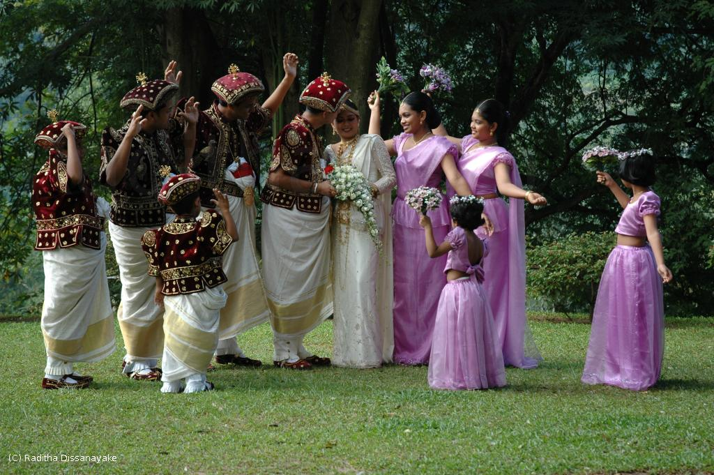 Seen at a wedding in Kandy. I wasn't the photographer – just